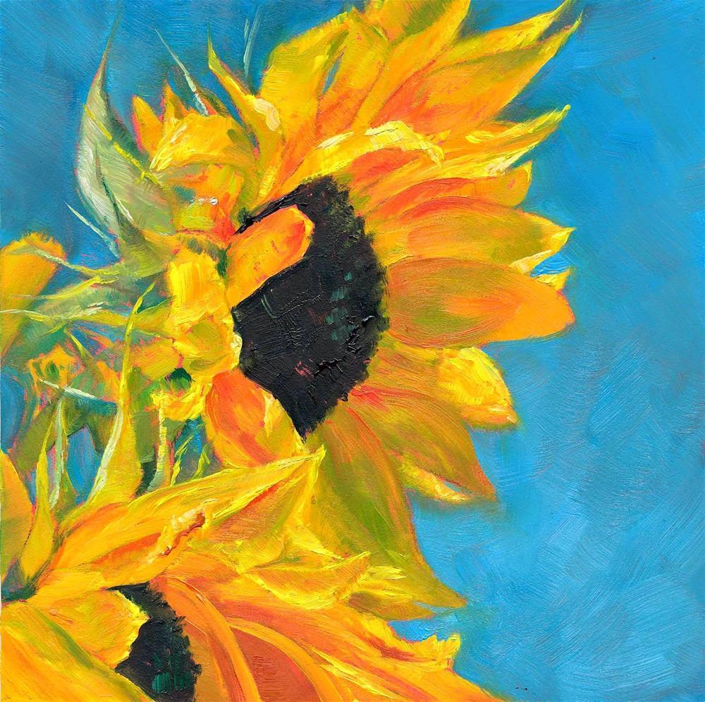 """Windswept"" original fine art by Brenda Ferguson"