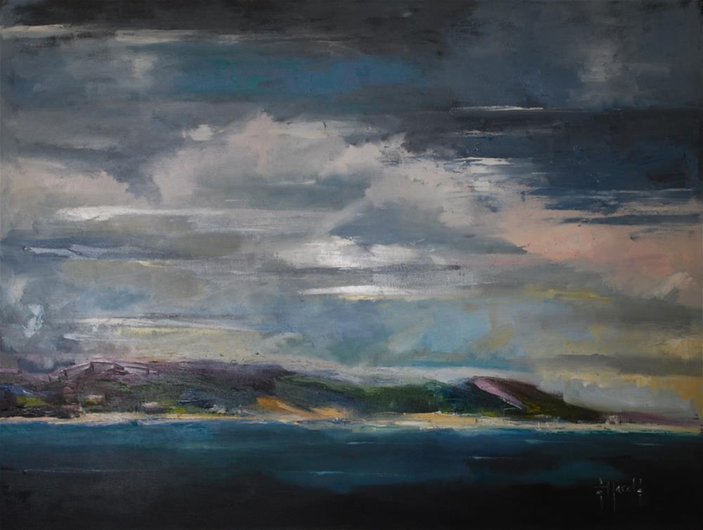 """One IF By Land"" original fine art by Deborah Harold"