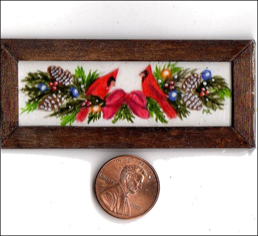 """Miniature Painting"" original fine art by Patricia Ann Rizzo"