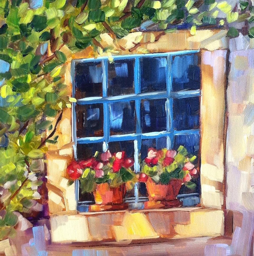 """Sunny Window"" original fine art by Libby Anderson"