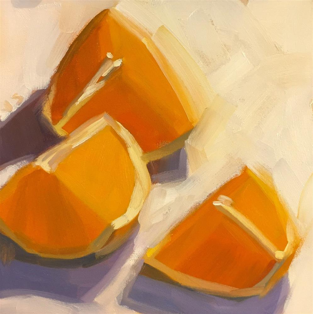 """""""Citrus on White"""" original fine art by Jamie Stevens"""