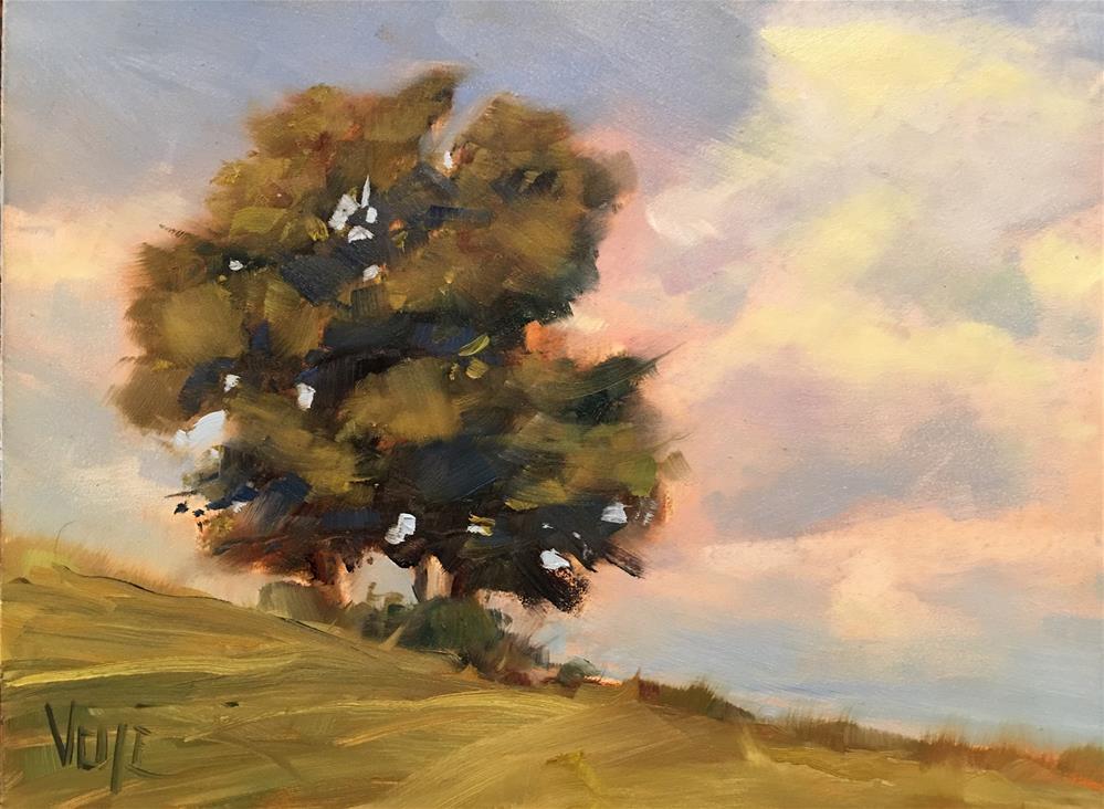 """""""#380 Alone Time"""" original fine art by Patty Voje"""