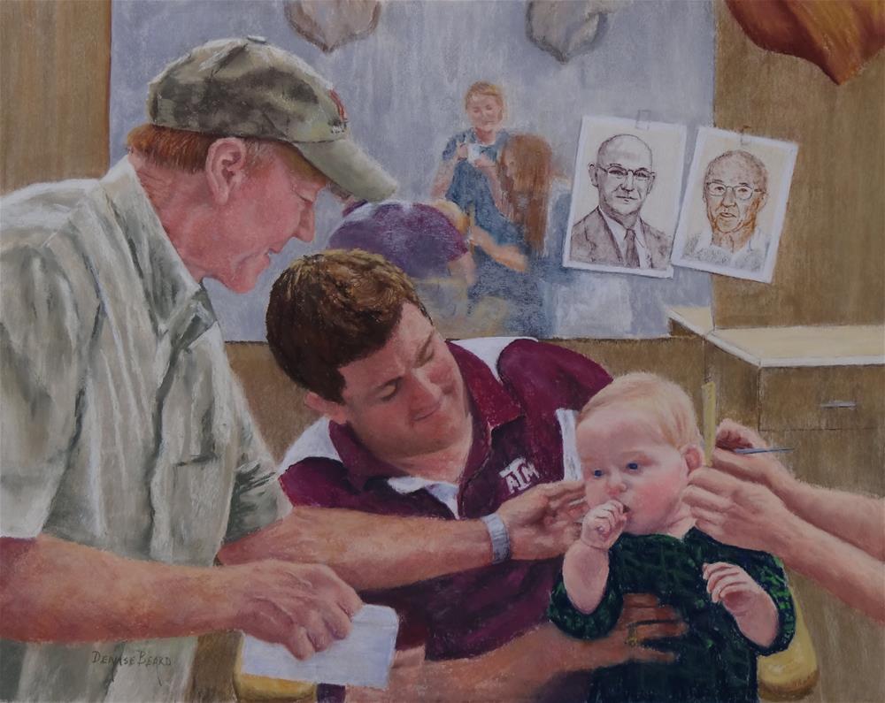 """""""5 Generations"""" original fine art by Denise Beard"""