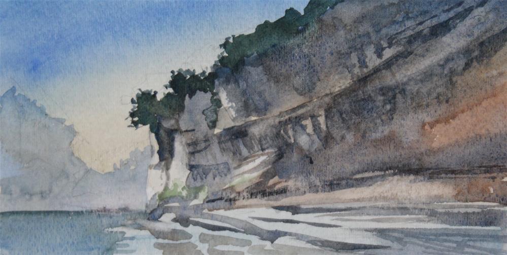 """War Eagle River"" original fine art by Cedar Kindy"