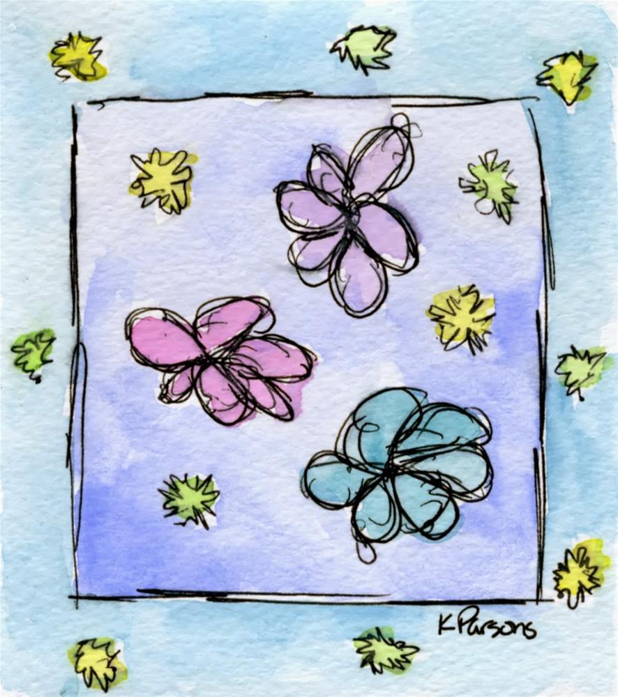 """""""Spring Springing"""" original fine art by Kali Parsons"""