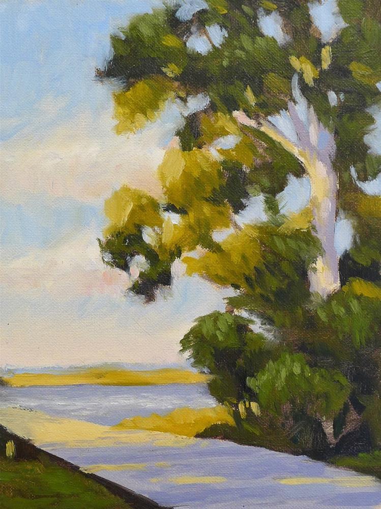 """Marsh Pines"" original fine art by Adam Houston"