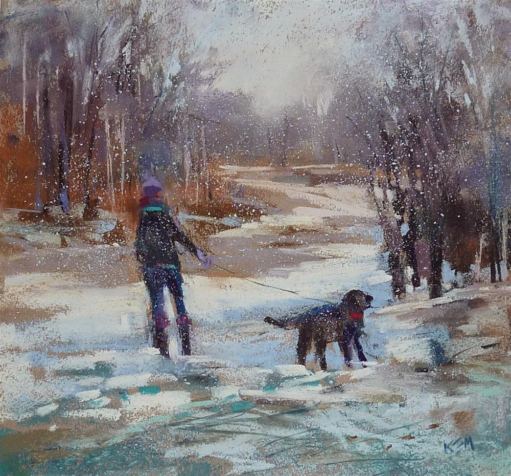 """Capturing a Moment with Pastels"" original fine art by Karen Margulis"