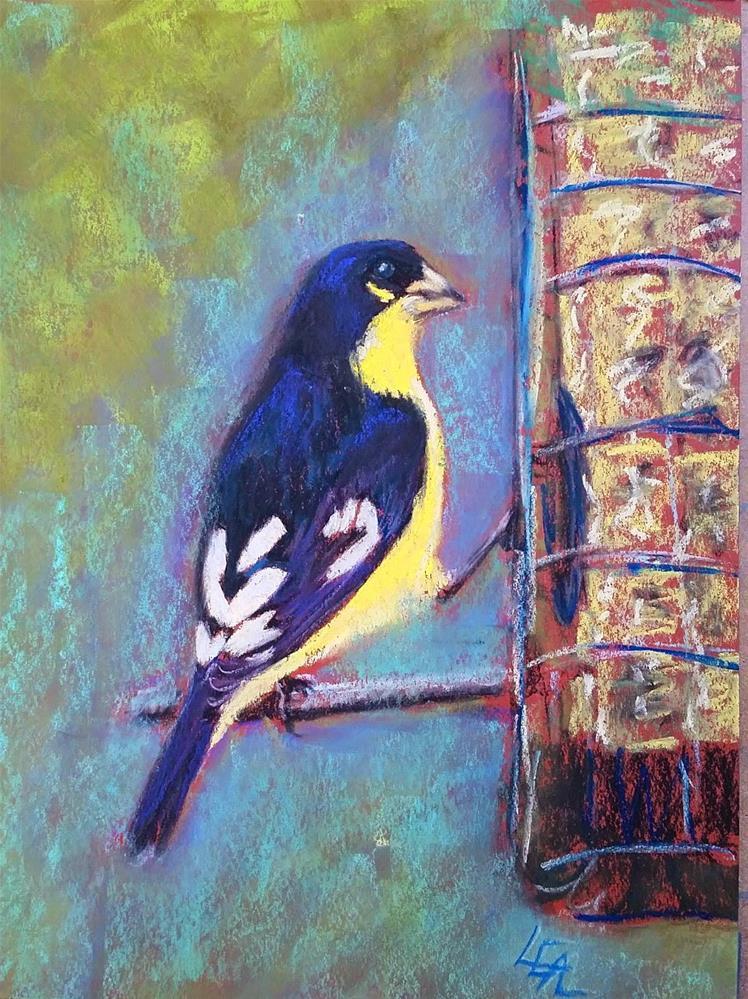 """Banana Split"" original fine art by Anna Lisa Leal"