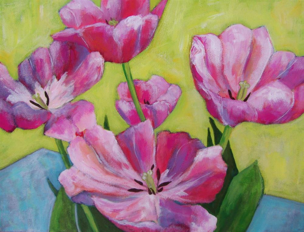 """Memories of Spring"" original fine art by Patricia MacDonald"