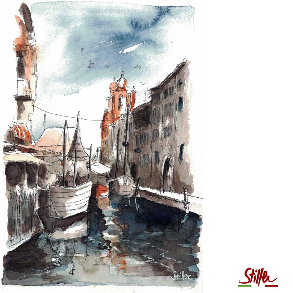 """3612 Italia"" original fine art by Dietmar Stiller"