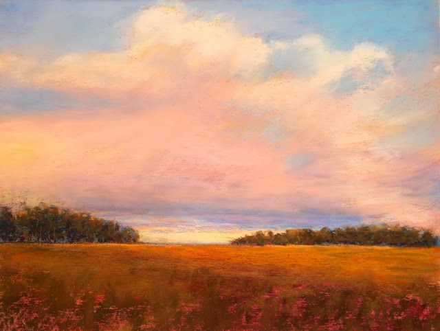 """""""It's a Beautiful Day"""" original fine art by Sharon Lewis"""
