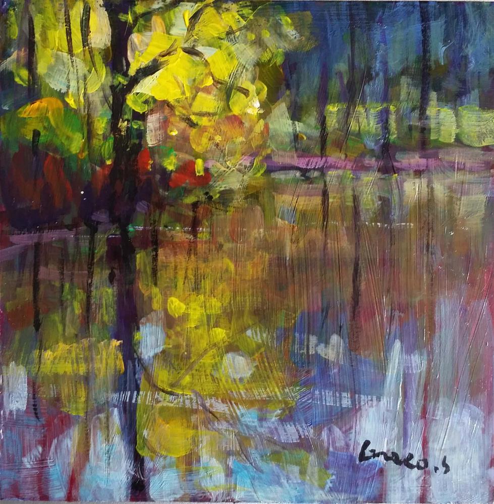 """""""Landscape #6"""" original fine art by salvatore greco"""