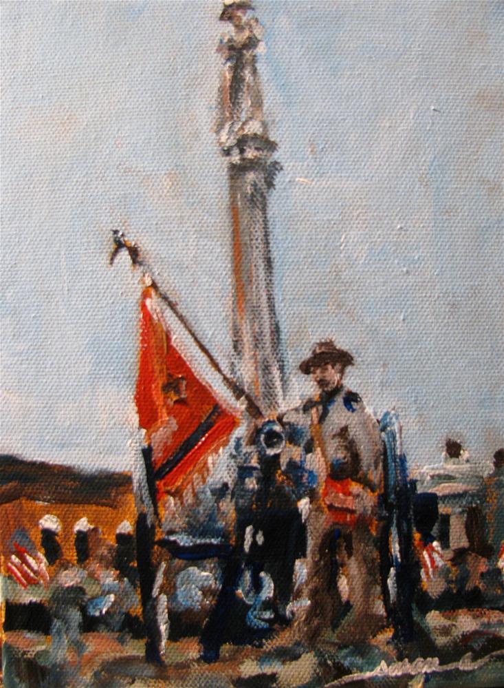 """Veterans Day"" original fine art by Susan Elizabeth Jones"