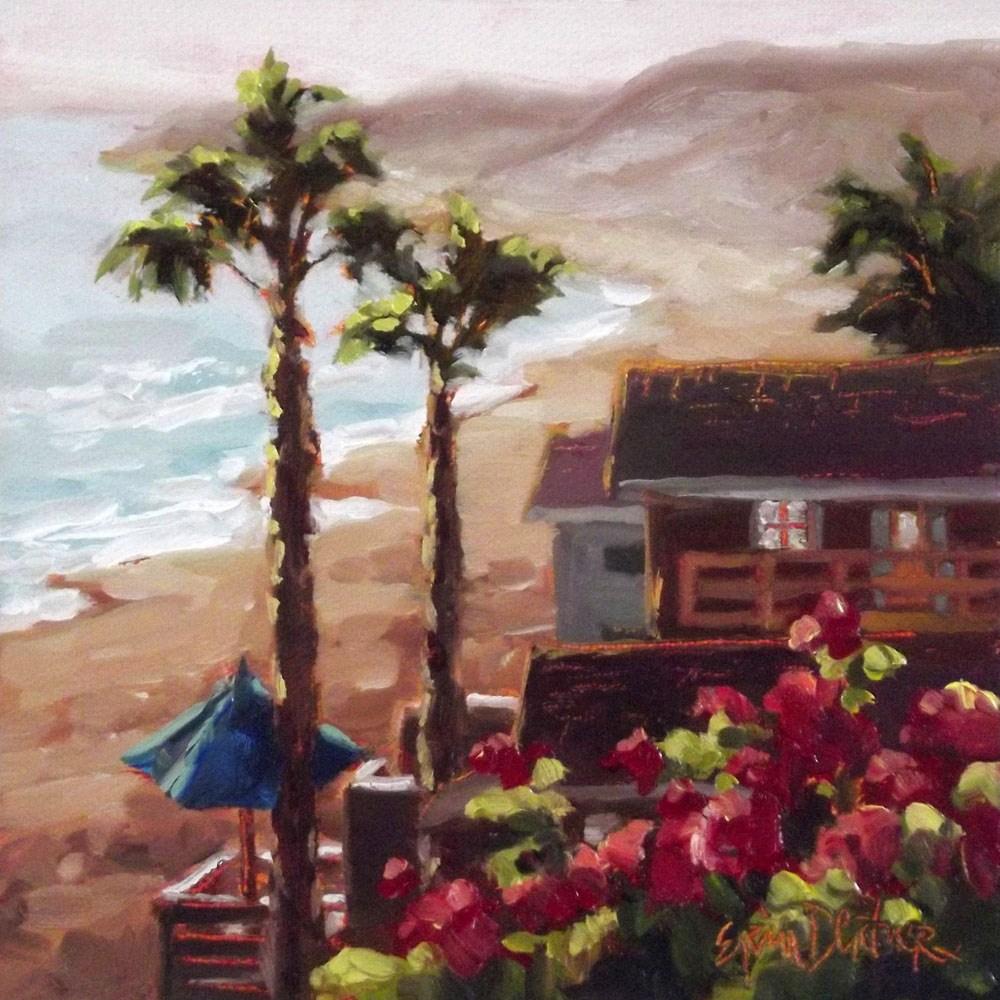 """""""Captivation Crystal Cove"""" original fine art by Erin Dertner"""