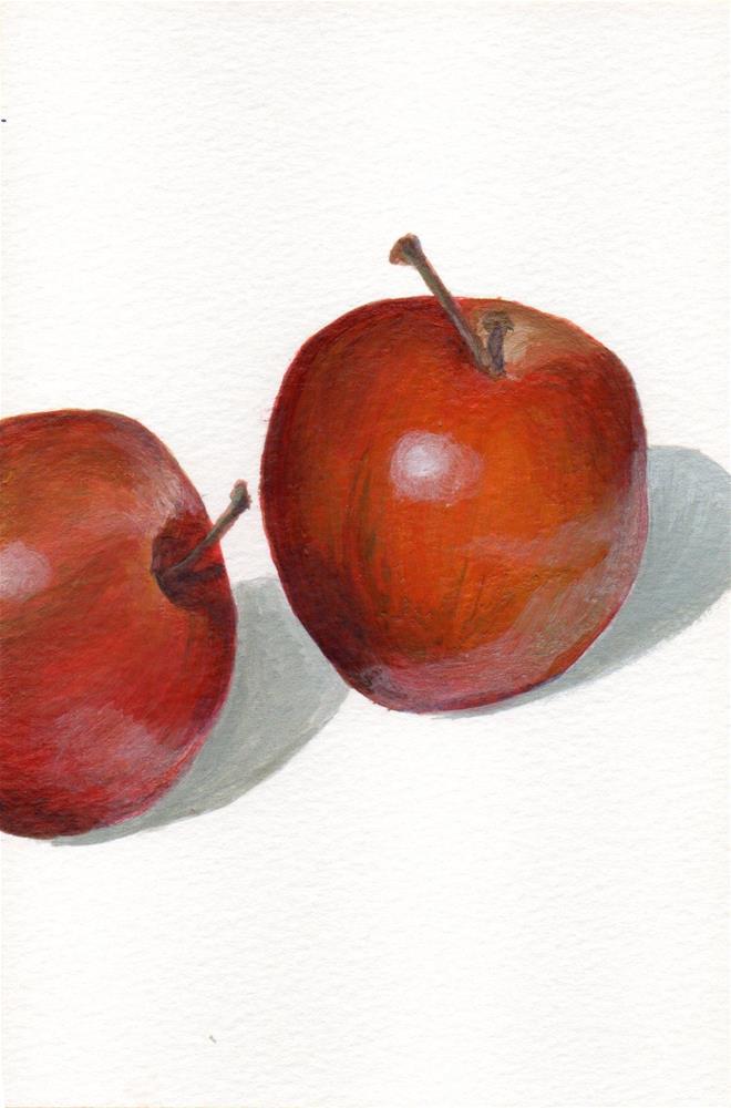 """Sauced"" original fine art by Debbie Shirley"