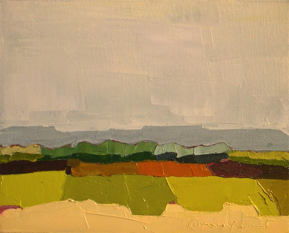 """Prospect"" original fine art by Donna Walker"