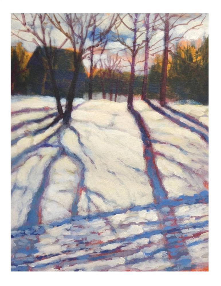 """Shadow Study"" original fine art by Suzanne Woodward"