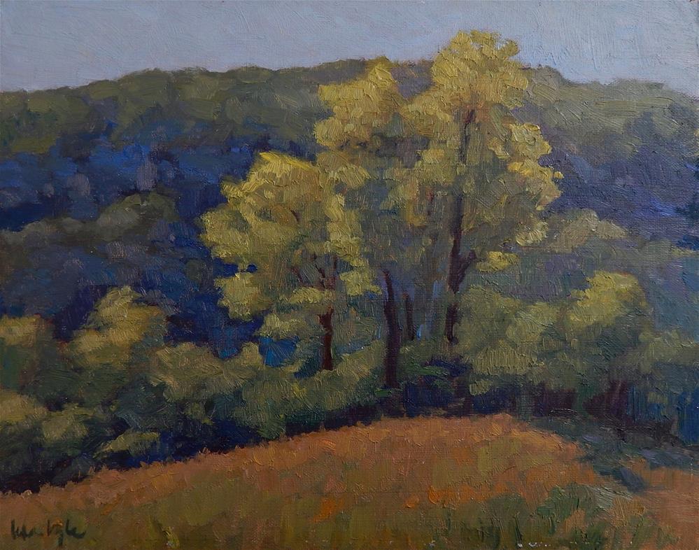 """Spring Morning"" original fine art by Lisa Kyle"