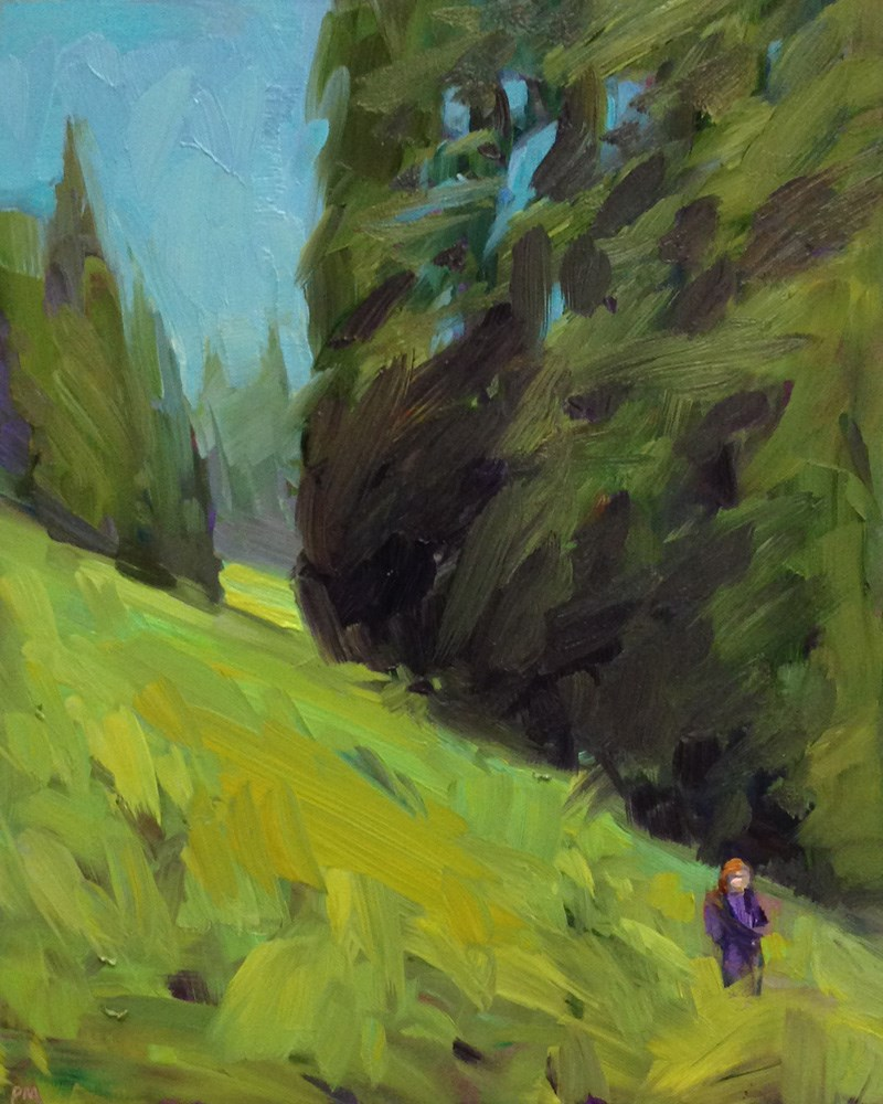 """Sense of Scale"" original fine art by Patti McNutt"