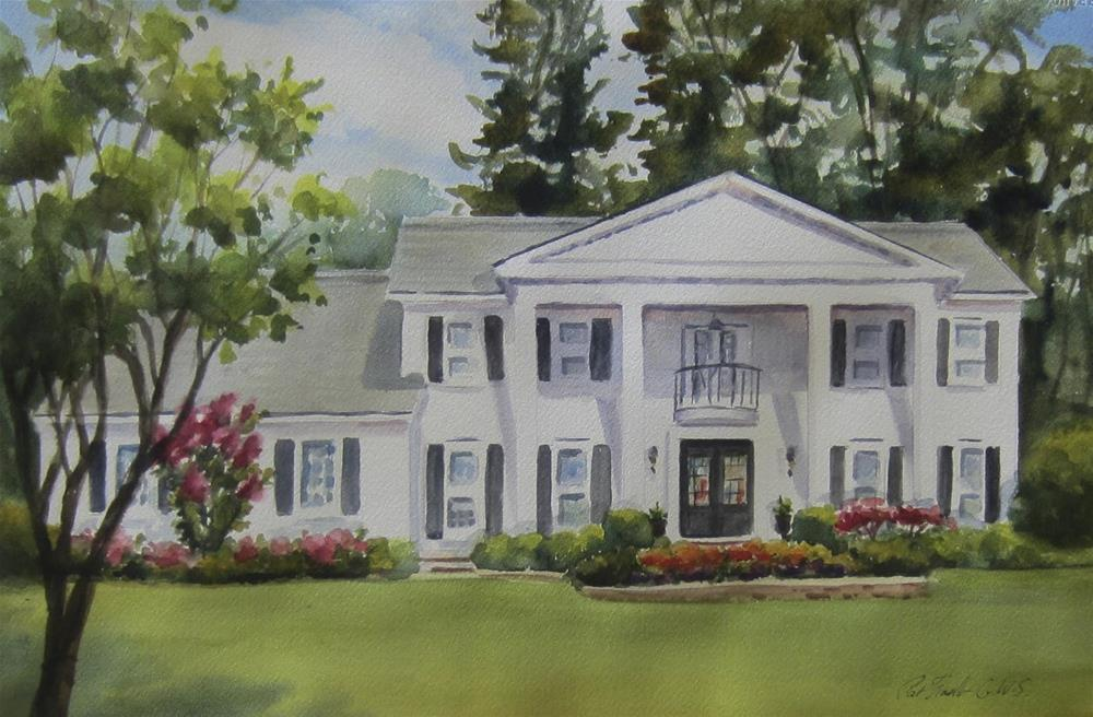 """44th Annual Dunwoody Home Tour"" original fine art by Pat Fiorello"