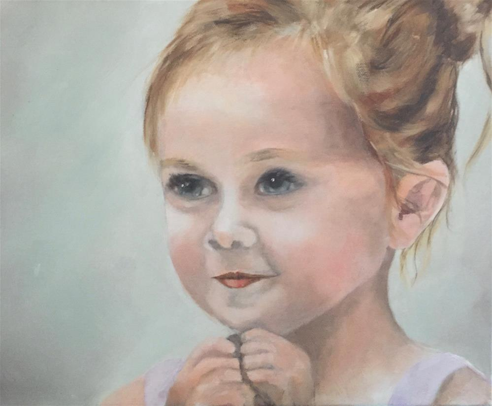 """Sweet Wonder"" original fine art by cheryl buhrman"