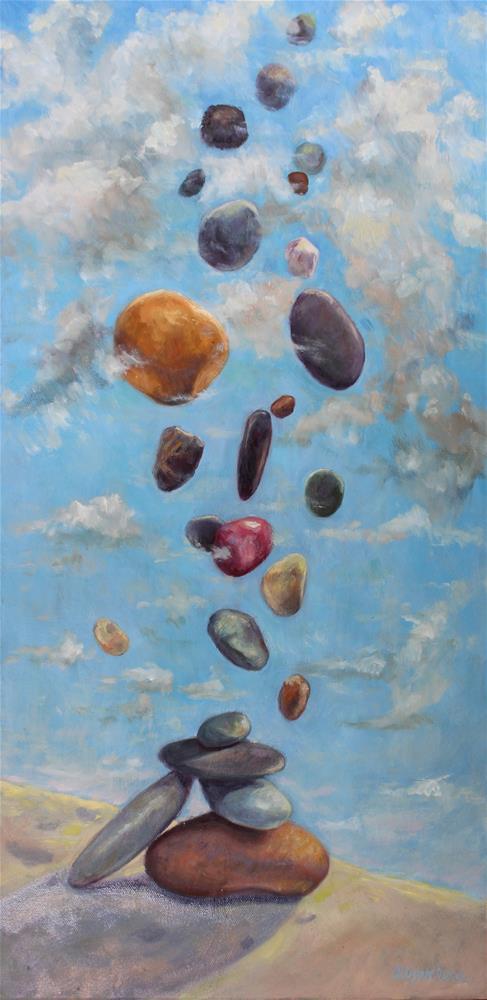 """""""Rock Fly"""" original fine art by Allison Doke"""