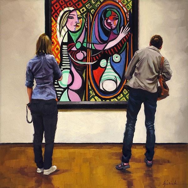"""Vanity Fare"" original fine art by Karin Jurick"