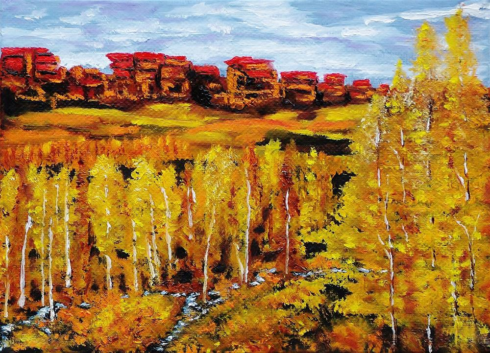 """Spirit of the West"" original fine art by Mike Caitham"