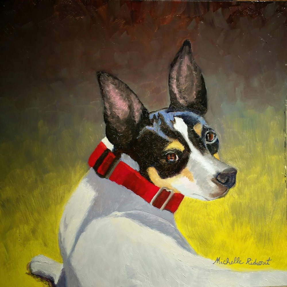 """""""Sadie Remembered"""" original fine art by Michelle Rideout"""