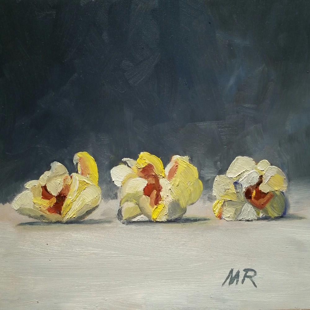 """Popcorn Parade"" original fine art by Michelle Rideout"