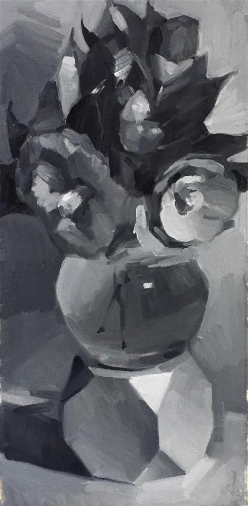 """Fleeting Blooms (sketch)"" original fine art by Sarah Sedwick"