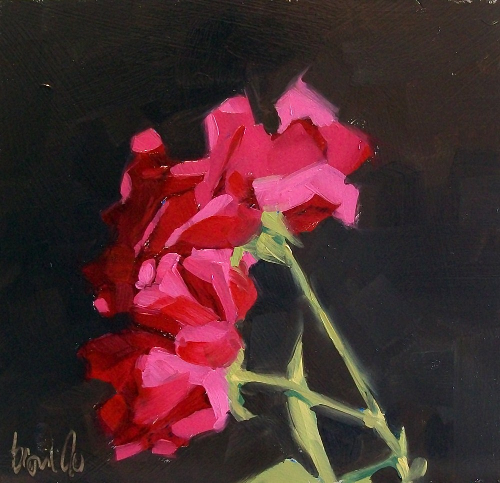"""Evening rose"" original fine art by Brandi Bowman"