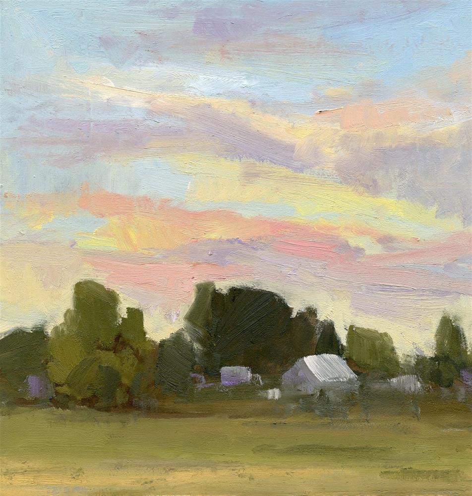 """Sunset 3"" original fine art by Carol Johansen"