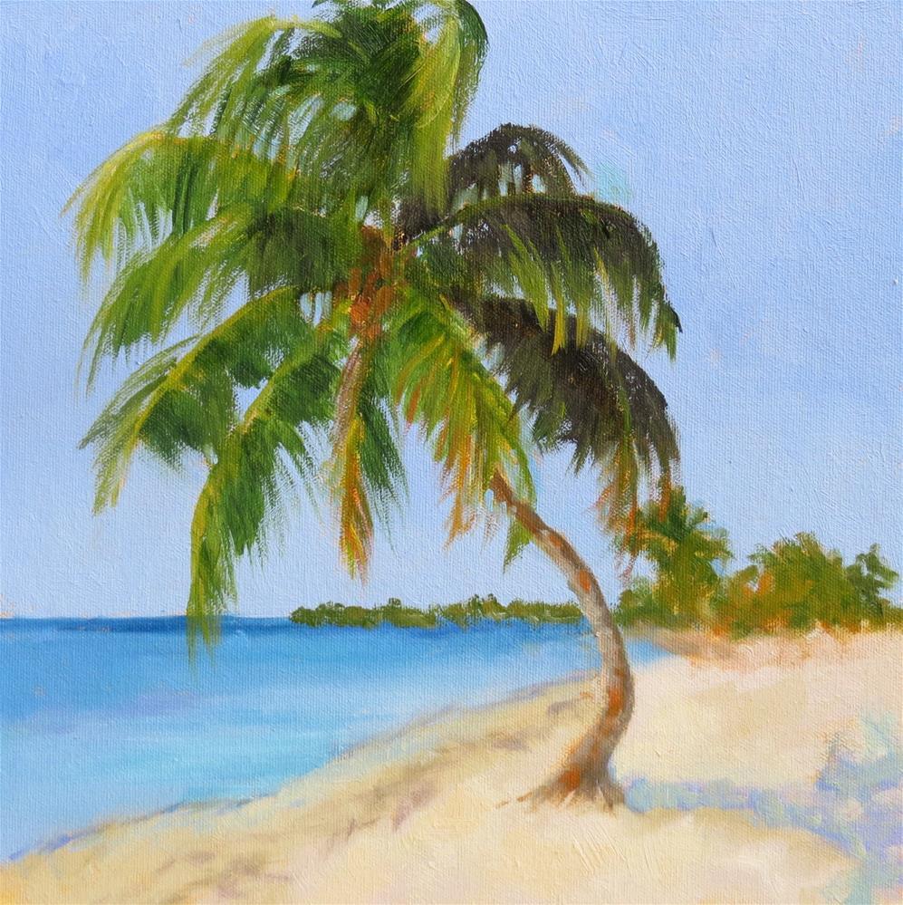 """Swaying Palm"" original fine art by Pam Holnback"