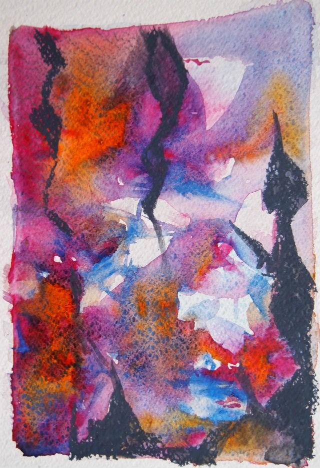 """Streamers"" original fine art by Amy Bryce"