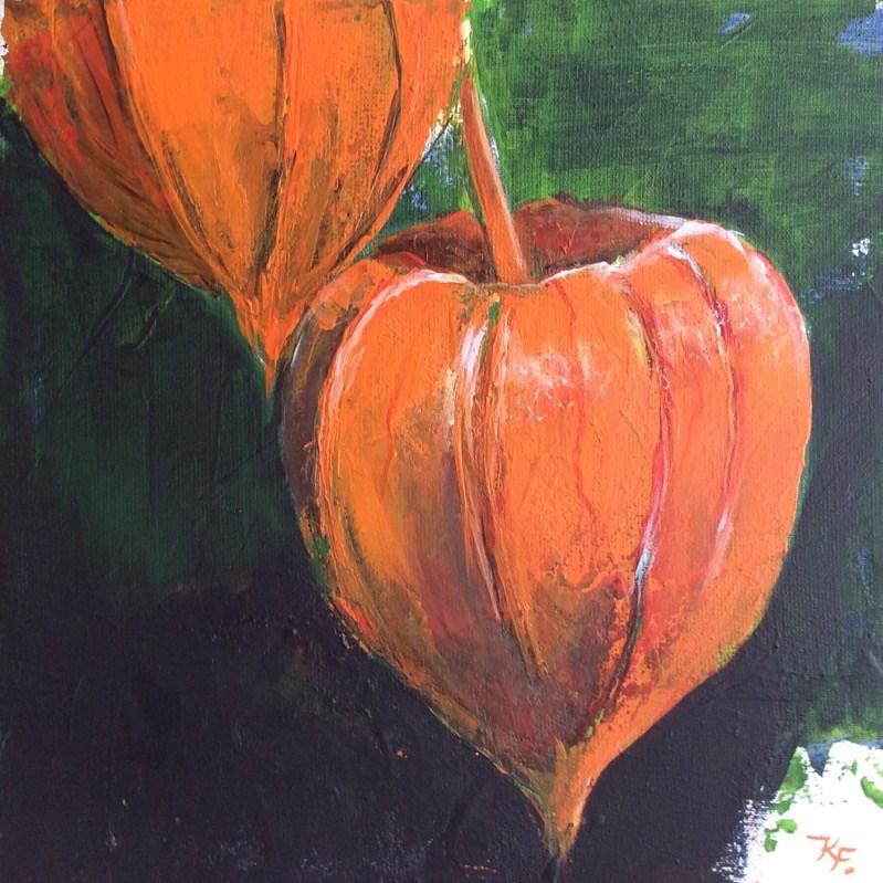 """Start of autumn"" original fine art by Klaudia Frieda"