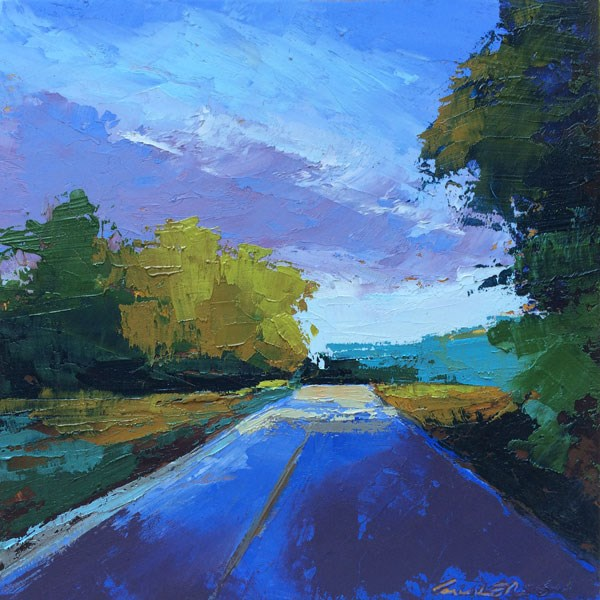 """""""Early Summer Evening"""" original fine art by Mary Gilkerson"""