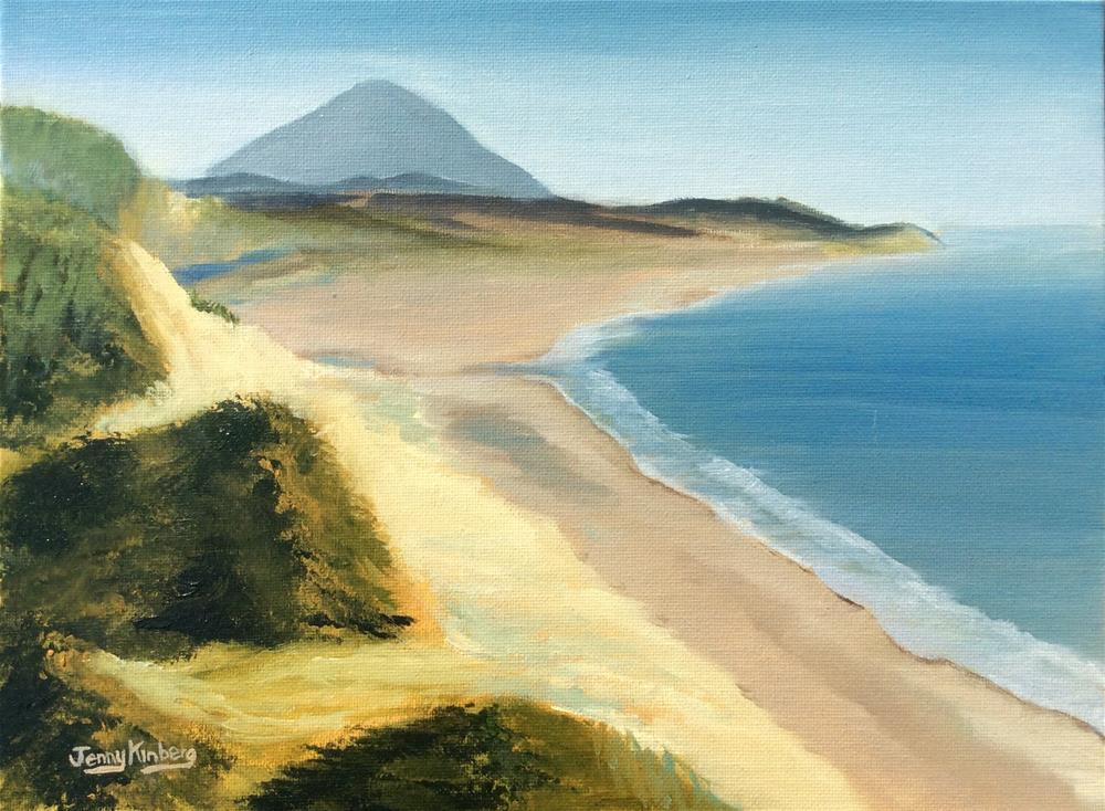 """South of Cape Blanco"" original fine art by Jenny Kinberg"