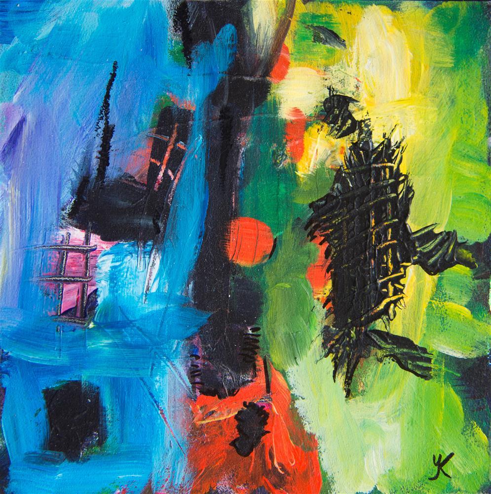 """""""Life As It Is"""" original fine art by Yulia Kazansky"""