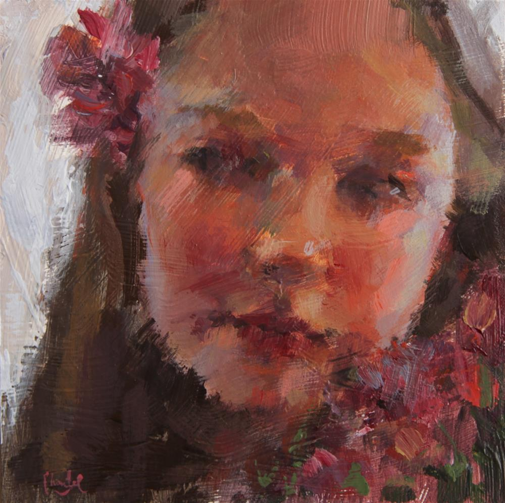 """Fragile Beauty"" original fine art by Chantel Barber"