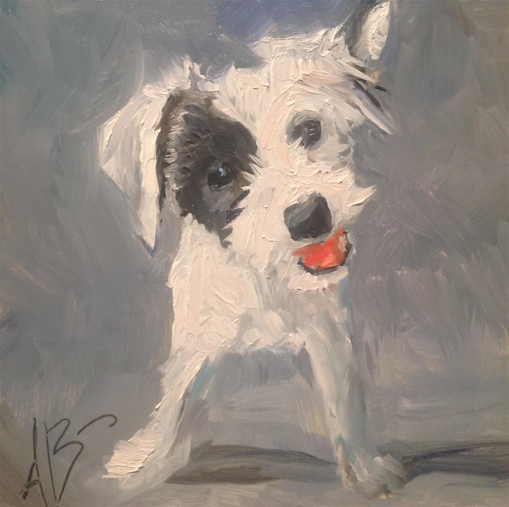 """Play with me!"" original fine art by Annette Balesteri"