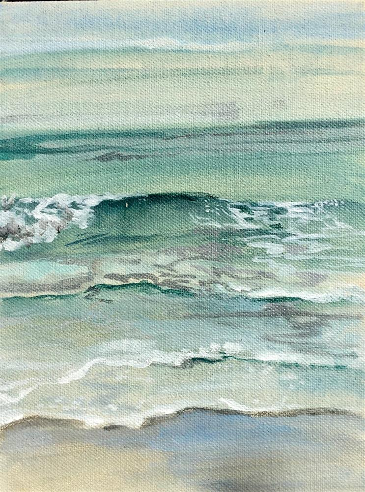 """Ocean City V"" original fine art by Lauren Kuhn"