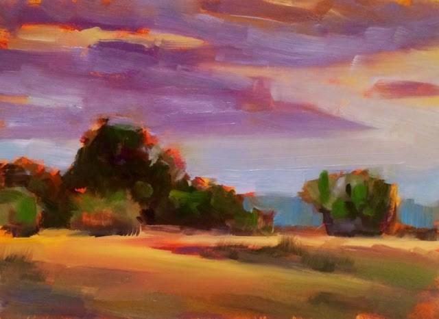 """ROLLING"" original fine art by Doug Carter"