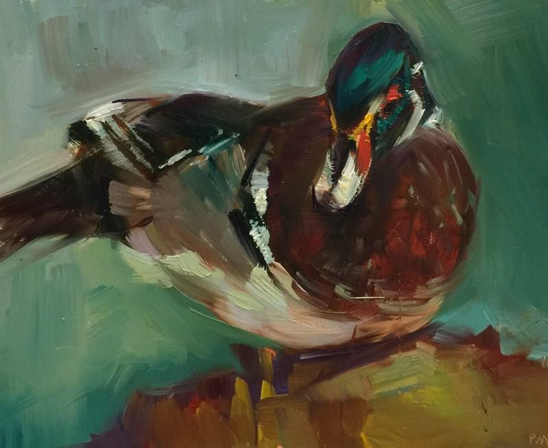"""""""Duck Still Life"""" original fine art by Patti McNutt"""