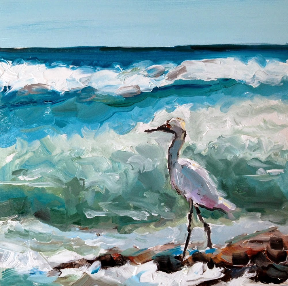 """""""Relaxation Station"""" original fine art by Marcia Hodges"""