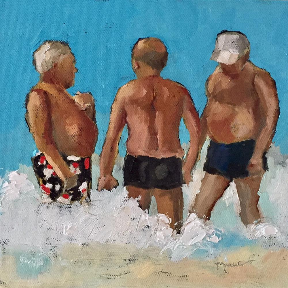 """Three Wise Men"" original fine art by Marcia Hodges"