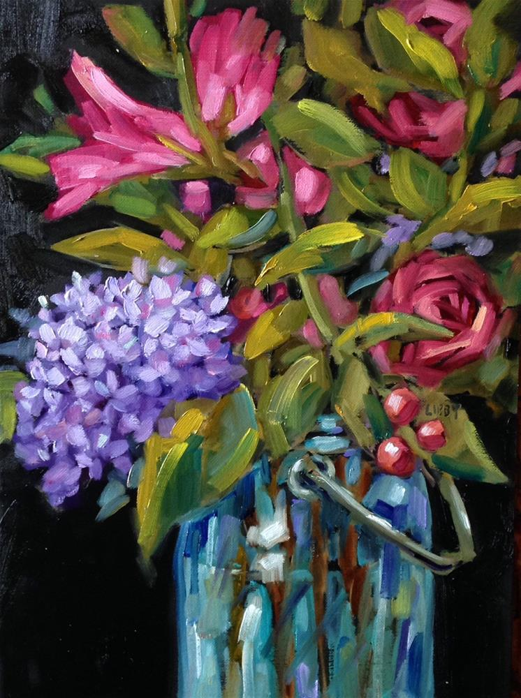 """Night Melody"" original fine art by Libby Anderson"
