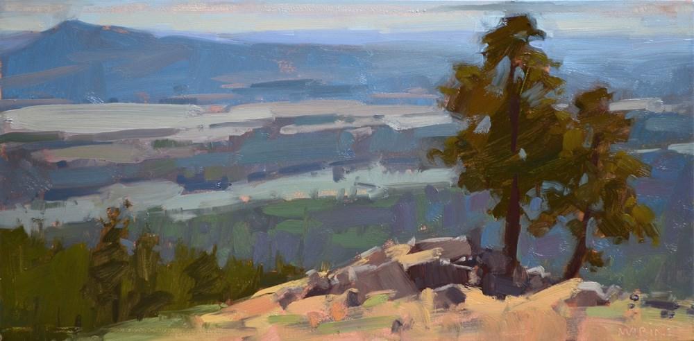 """Outcropping"" original fine art by Carol Marine"