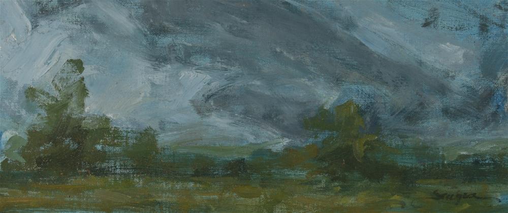 """Storm Chaser"" original fine art by Scott Serafica"