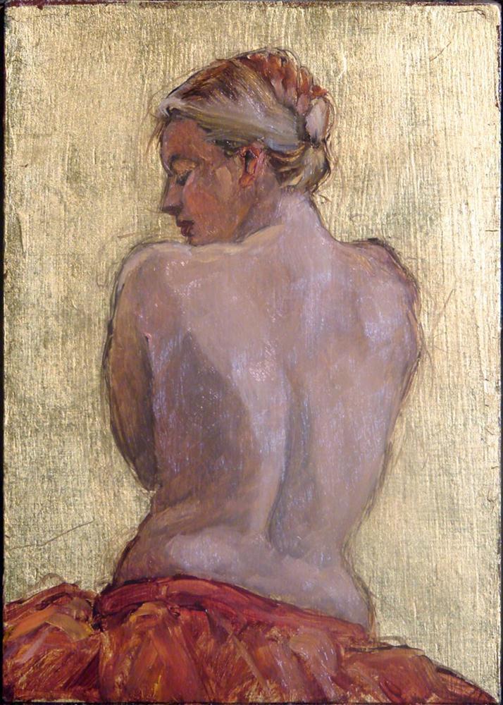 """""""Venus looking back"""" original fine art by Myriam Kin-Yee"""
